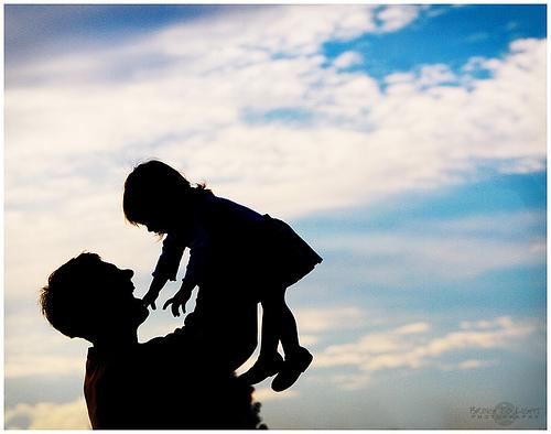 papa e figlia