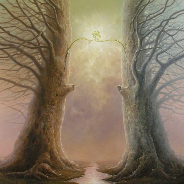 Tomasz Alen Kopera 1976 - Polish Magical Surrealism  painter - Tutt'Art@ (40)